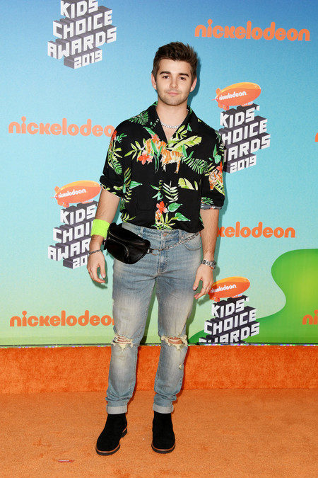 Jack Griffo Nickelodeon S 2019 Kids Choice Awards Arrivals Red Carpet