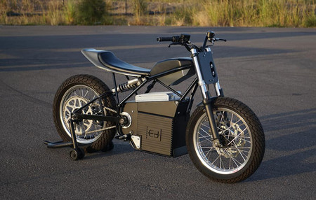 Ed Motorcycles Concept Z Flat Track Electrica 1