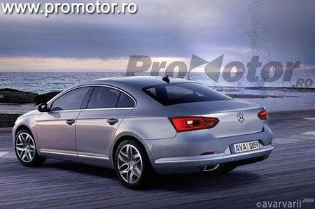 Volkswagen Passat Render