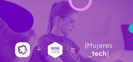 Wallapop y Ironhack ofrecerán 200.000 euros en becas para formar a 100 mujeres en tecnología