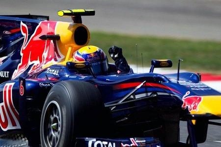 Mark Webber Silverstone 2010