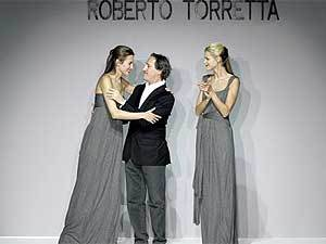 Roberto Torreta en el Museo del Traje