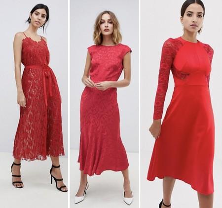 Asos Rebajas Vestido Rojo Ivanka Trump 01