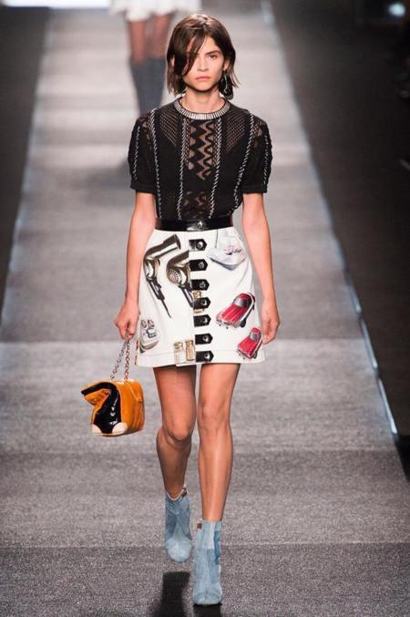 Alba Galocha modelo desfile Louis Vuitton Primavera-Verano 2014