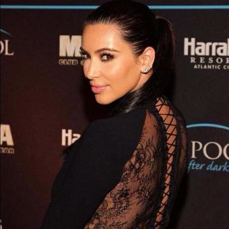 Kim Kardashian, cuando una va tan morcillona, pasa lo que pasa