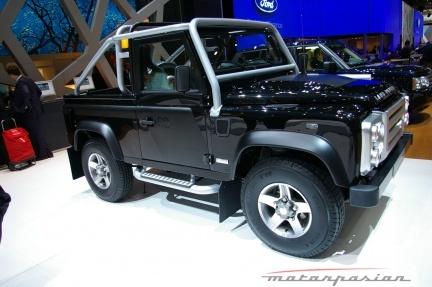 Land Rover Defender SVX en el salón de Ginebra