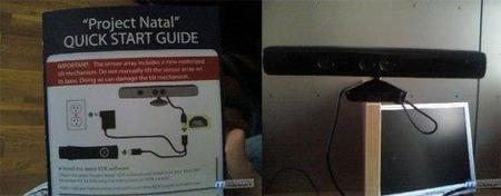 Posibles primeras imágenes de la versión definitiva de Project Natal y su manual de instrucciones