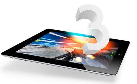 iPad 3 sería presentado a principios de Marzo