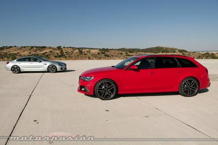 Audi RS 6 Avant contra BMW M6 Gran Coupé, comparativa (parte 1)