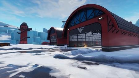 Desafío Fortnite: dónde conseguir el Fortbyte 75 en el interior de un hangar de aeropuerto. Solución