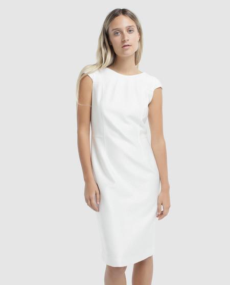 Vestido Blanco Reabajas Roberto Verino