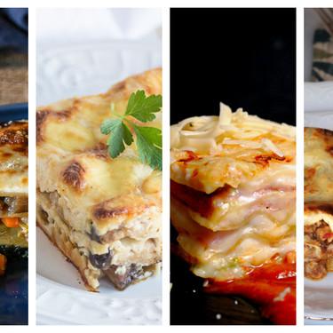 Si amas la lasaña, te encantarán estas ocho variaciones para todos los gustos