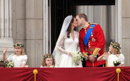 Kate Middleton beso