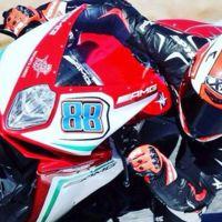 MV Agusta seguirá confiando en Nico Terol hasta final de temporada