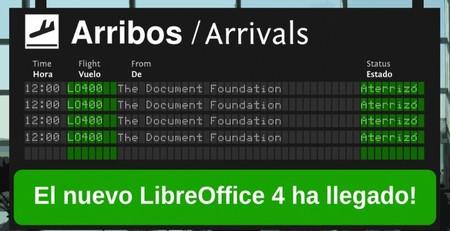 LibreOffice 4.0, la primera versión completa desde su separación de OpenOffice