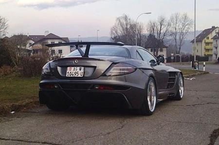 Mercedes SLR McLaren por FAB Design