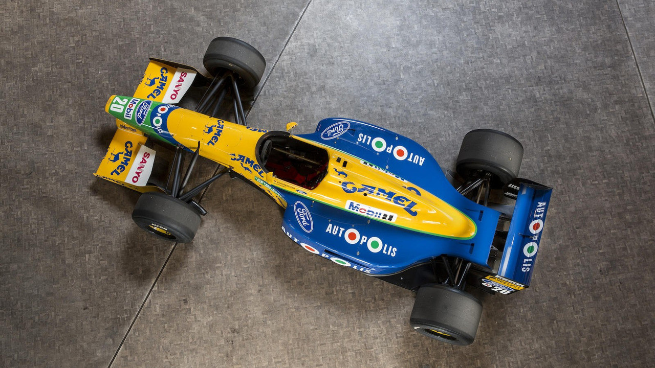Foto de Benetton B-191-02 (17/19)