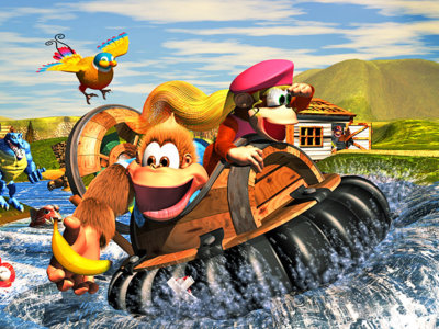 Donkey Kong Country 3 es el juego estrella que llega esta semana a la Consola Virtual de New 3DS