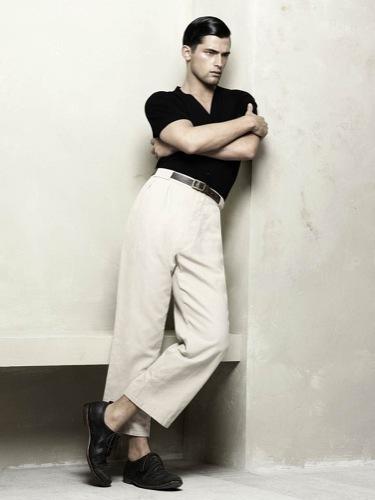 Zara, Primavera-Verano 2010: un hombre a la última y con estilo, blanco y negro