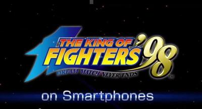 Disponible The King of fighters 98 para Android