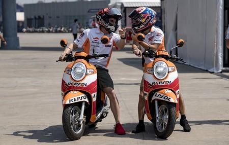 Marc Marquez Dani Pedrosa Previa Tailandia 2018