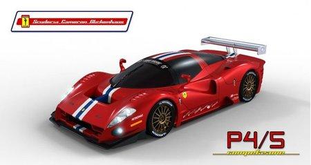Ferrari P4/5 Competizione desvela su decoración final