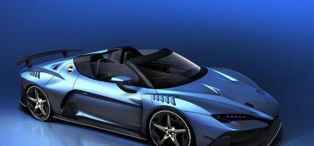El Italdesign Zerouno Roadster se deja ver: así es este Huracán disfrazado, de casi 2 millones de euros