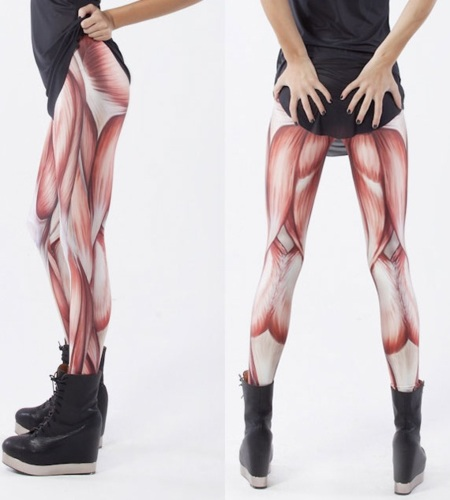 Leggings musculosos