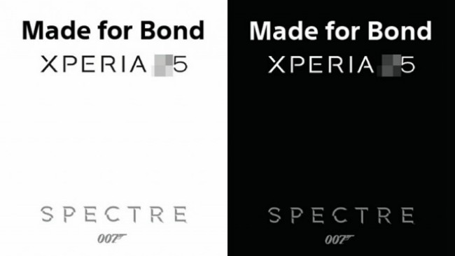 Xperia Z5 Made For Bond