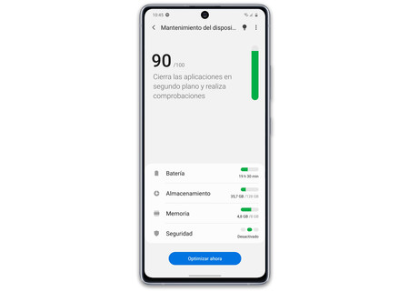 Samsung Galaxy S10 Lite S10 Software Mantenimiento