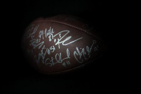 Balón autografiado
