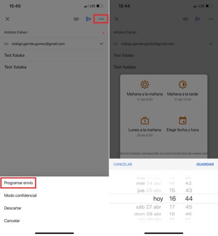 Programar Envio Correos Electronicos Gmail Ios Mexico