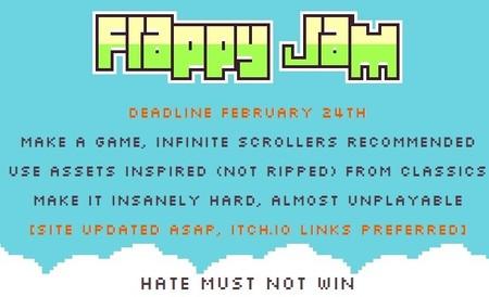 Flappy Jam en contra de la violencia entre desarrolladores