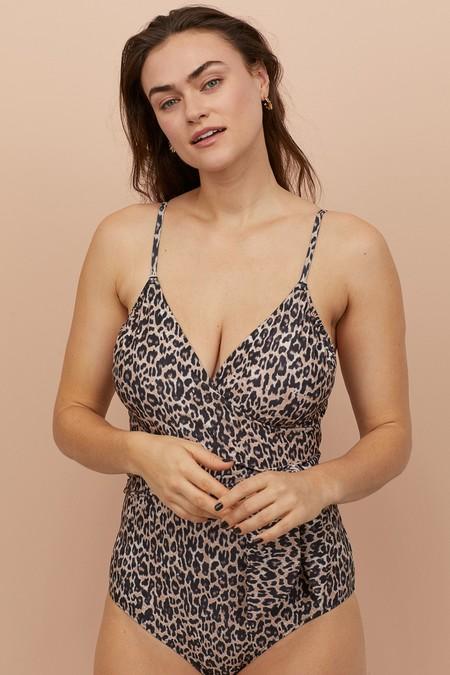 Bikinis Banadores Estampado Leopardo
