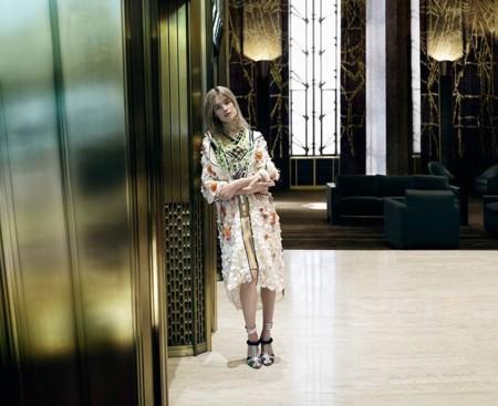 Prada Campana Primavera Verano 2016 Sasha Pivovarova Natalia Vodianova Steven Meisel 6