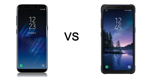 Galaxy S8 vs Galaxy S8 Active, comparativa: así es el 'flagship' ultrarresistente de Samsung