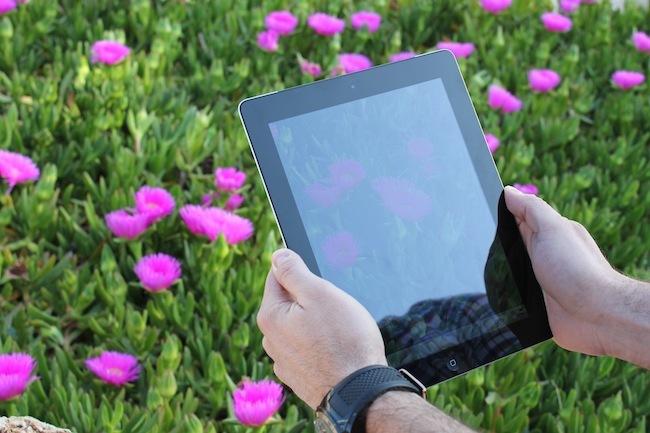 nuevo iPad camara