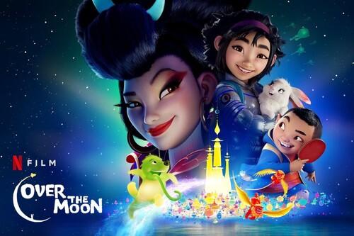 'Más allá de la luna': la película animada de Netflix es una emocionante aventura musical con una marcada personalidad visual