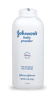 Polvos de talco, remedio de urgencia contra el pelo sucio