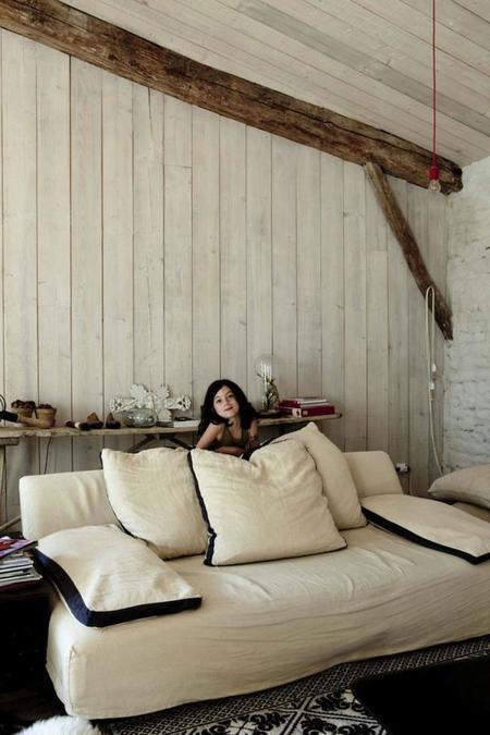 la casa de verano de los editores de Milk Magazine