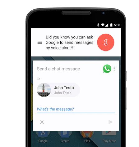 Enviar WhatsApp con voz