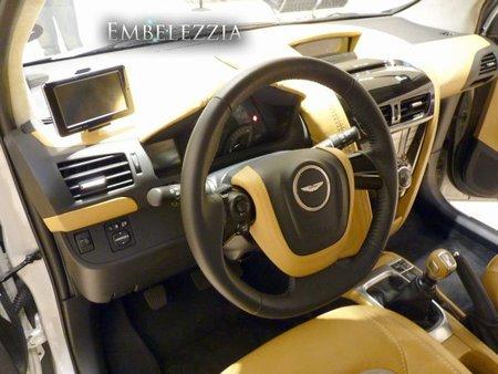 Interior del Aston Martin Cygnet