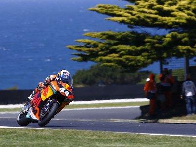 Primera victoria sensacional de Miguel Oliveira con doble podio para KTM en Phillip Island