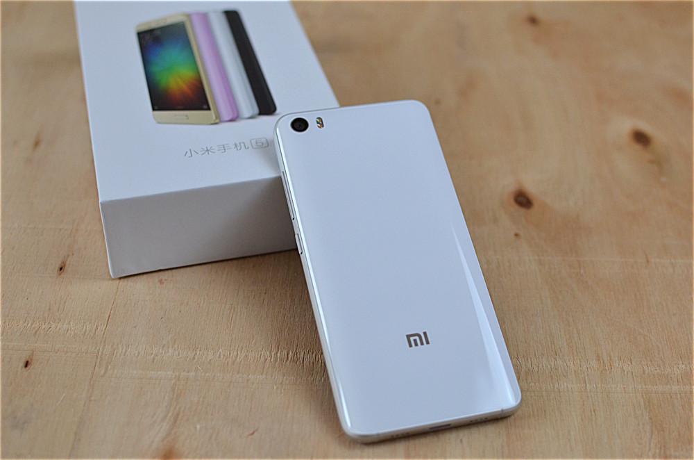Xiaomi Mi5 Acabado Review Trasera Cristal