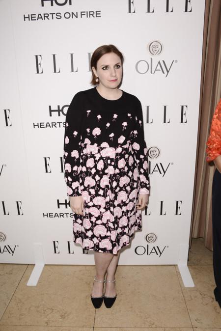 Lena Dunham Elle Women Television 2015