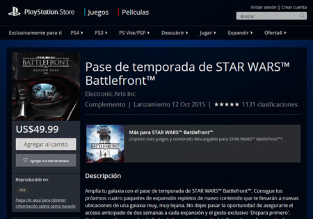 Star Wars Battlefront Pase