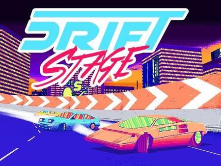 Drift Stage, un juego de carreras hecho de pixelazos y colores chillones