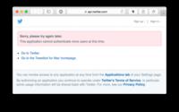 """Lo que le faltaba a Tapbots: Tweetbot se queda sin """"tokens"""" y no puede registrar a más usuarios"""