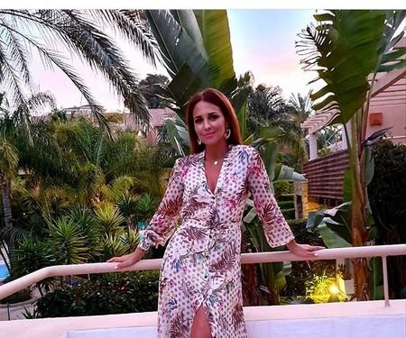 Paula Echevarría luce el perfecto vestido camisero de esta primavera, y te va a encantar