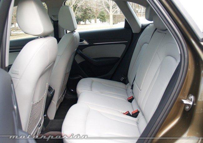 Audi Q3 quattro prueba interior 04